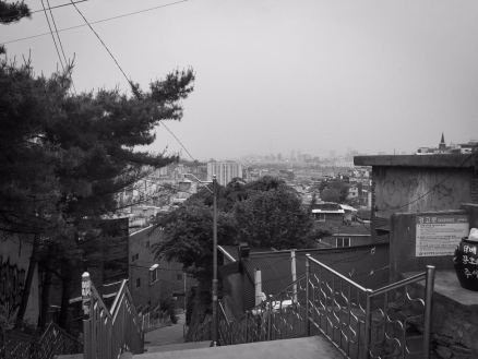 seoul black and white